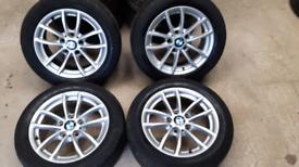 "16"" BMW 1 SERIES ALLOY WHEELS GENUINE"