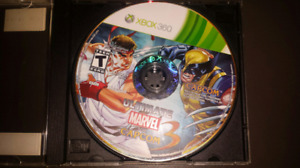 Ultimate Marvel vs.Capcom 3.Game disc only