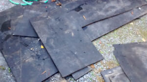 Canadian made 3/4 inch thick rubber mats