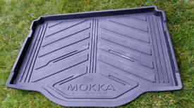 Genuine Vauxhall Mokka x boot liner