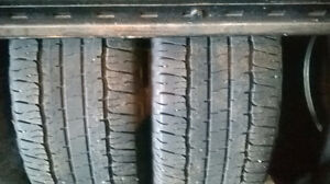 Several Pairs of 265 70 17 all season tires and winter tires.