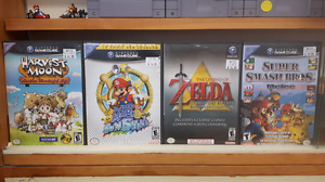Gamecube**Super Smash Bros.Melee*Super Mario Sunshine*Zelda