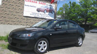 2006 MAZDA3, AUTO,AC, SAFETY+WRTY for 5495, LEASE TO OWN AVAILAB