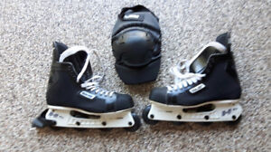 ROLLERBLADES-BAUER-MEN'S-Used Once - Size 12