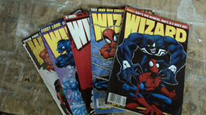 WIZARD Magazines from late 90's - the lot for $5.00