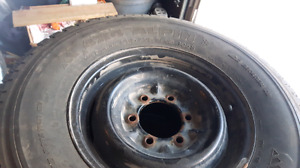 Pneu Michelin 4x4 alpine