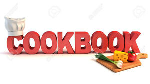 Many Cookbooks for Sale