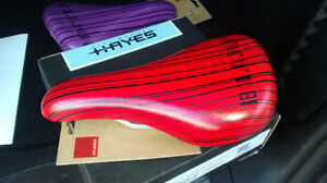 2017 Brand New in Package Blank Bike Seat - Red
