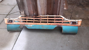 1960 Ford Mercury truck lower grill and valance