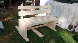 Solid wooden benches made for you