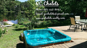 Only Aug 19-23 left! Book now: Private Waterfront Cottage w/spa