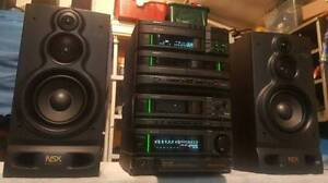 AIWA NSX HIFI COMPONENT STEREO SYSTEM/3CD/AUX/JAPAN Dandenong North Greater Dandenong Preview