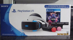 Casque virtuel (Play station VR)