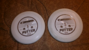 2 Frisbee.  Golf. Putters