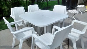 Sets patio + chaises longues