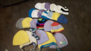 Crochet baby hats preemie-24m
