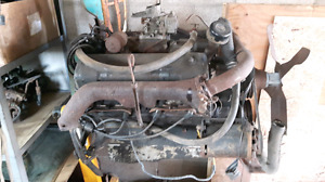 Ford Mercury truck 292 Y block motor and transmission