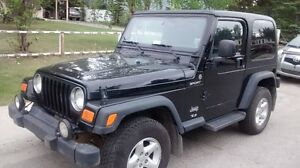 Clean 2003 Jeep TJ