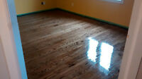 SARNIA HARDWOOD FLOOR REFINISHING - 25 years experience!