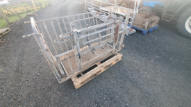 Ironworks sheep turnover crate farm livestock tractor