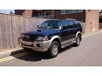Mitsubishi Shogun Sport 2.5 TD Equippe 5dr LOW MILEAGE ONLY 63K 2003 52 REG