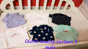 Cache couche carters