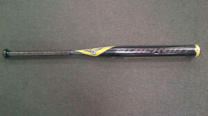 Brand New Mizuno Blackout End Loaded Composite Slo-Pitch Bat