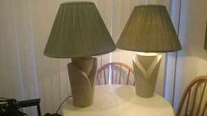 For sale 2 lamps in great shape