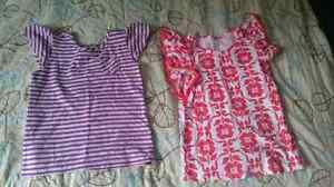 Two Old Navy size 5 shirts