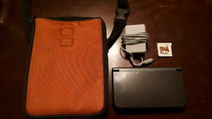 Nintendo 3ds XL System With Charger And Super Mario Land Game!