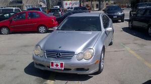 2002 Mercedes-Benz C-Class Sport Coupe Navigation system (GPS)