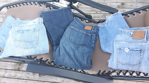 """Mens 34""""jeans $10 for 3 pairs."""