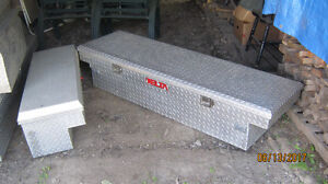 ALUMINUM CHECKER PLATE TRUCK TOOL BOXES