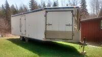 24 ft Toy Hauler/ Enclosed Trailer needs repair