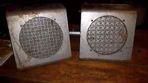 Old PA speakers