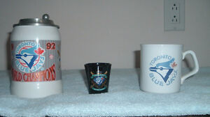 TWO Blue Jays World Series Collectables + A Blue Jays Coffee Mug