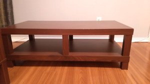 SOLD!!! Matching End tables, coffee table, and t.v stand,