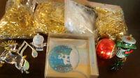 Christmas Metallic Shreds/ Christmas Cards/ Tree Ornaments