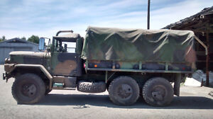 2003 Deuce and a half. General Army Truck