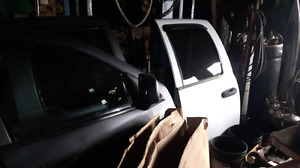 2003 Dodge truck parts and 2000 chev doors