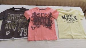 3 Boys Mexx Short Sleeve Tops Size 5 Years