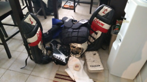 Equipement de gardien de but hockey