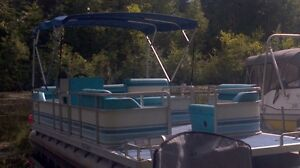 Pontoon Boat with trailer - great package deal