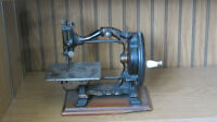 antique hand sewing machine