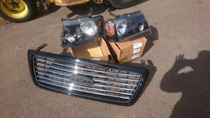 Ford F150 Harley grill +headlights combo