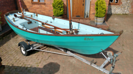 Drascombe Lugger Sailing Boat Dinghy