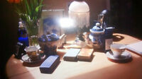 Tarot & tea leaf readings in Kelowna, BC at Dare to Dream, etc.