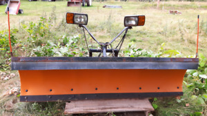 Hydraulic/Electric truck plow
