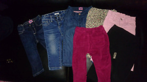 7 pairs of jeans and pants