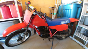 1986 honda dirt bike